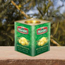 Nursan Yeşil Kırma Zeytin 10 kg